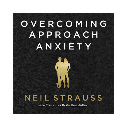 Overcoming Approach Anxiety | Audible Cover Design 2