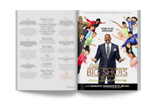 Little Big Shots | Full-Page Ad