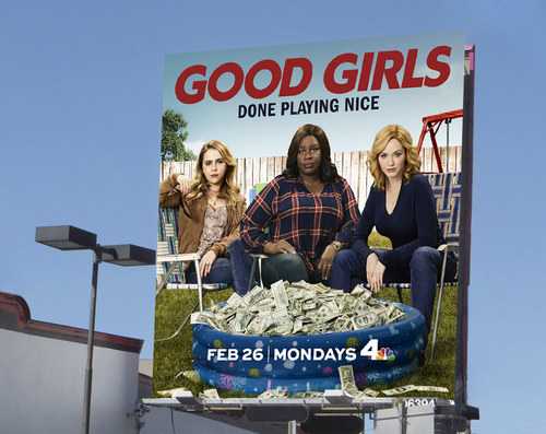 Good Girls Season 1 | 26 x 24 Premium Square