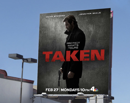 Taken Season 1 | 26 x 24 Premium Square