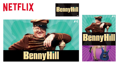 Netflix Website Show Images | Benny Hill