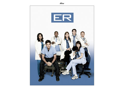ER, Season 14 | NBC Show Key Art (After)