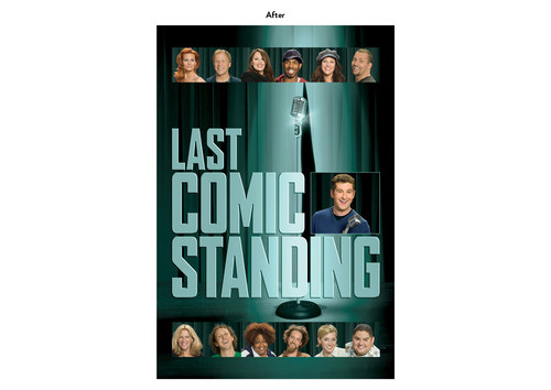 Last Comic Standing | NBC Show Key Art (After)