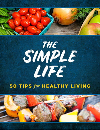 The Simple Life 50 Tips for Healthy Living | Website Handout Cover