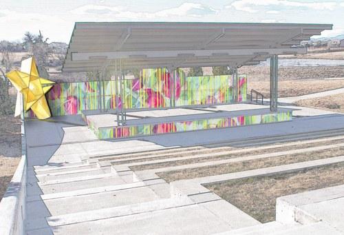 Carpenter Amphitheater Concept Sketch