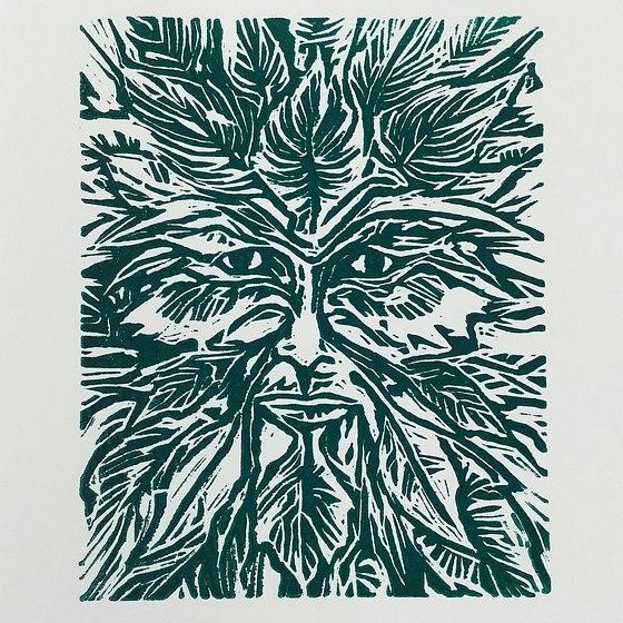 Green Man: prints & poetry chapbook