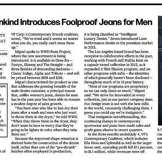 WWD Foolproof Article
