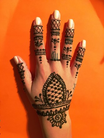 Fresh Henna Ink
