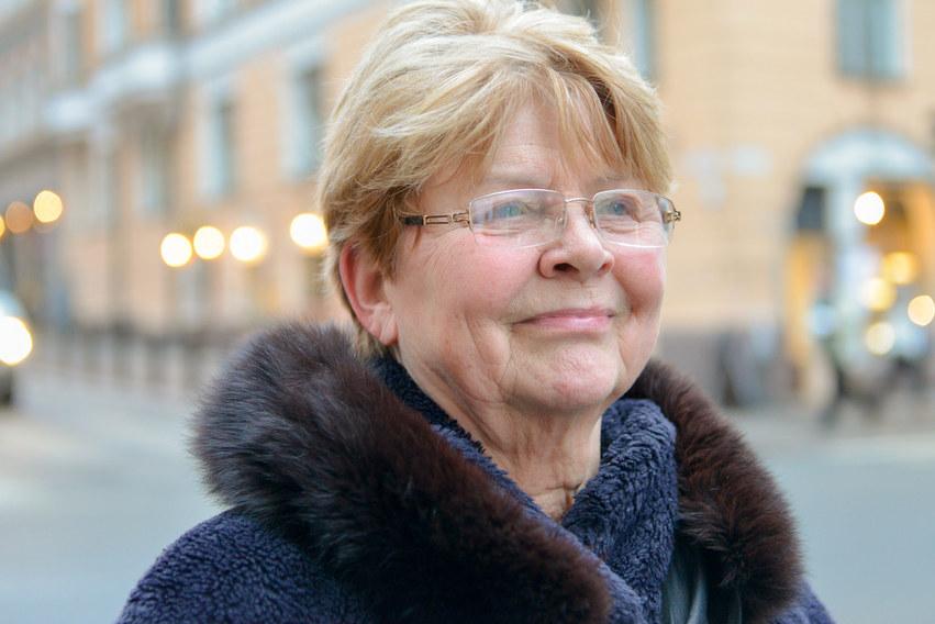 Eila Ranta, the winner of Apollo-price in Docpoint 2017