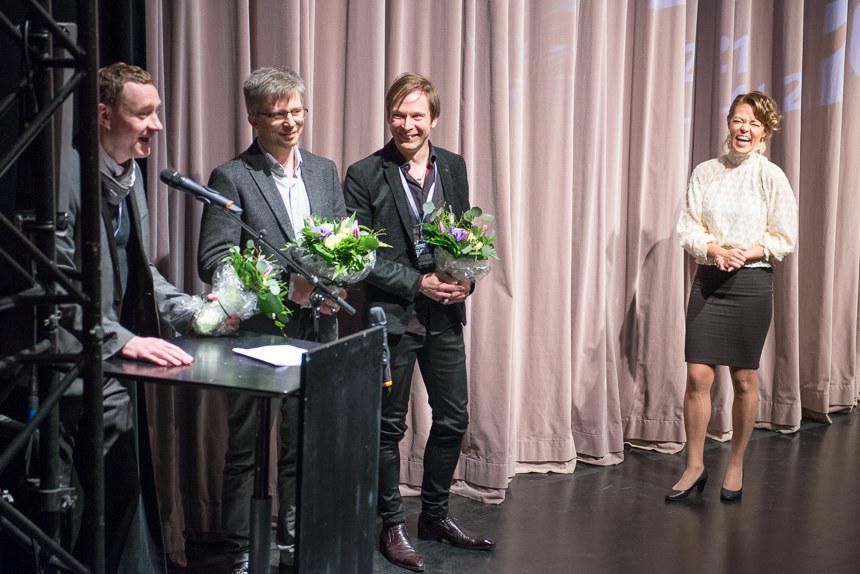 Kiur Aarman, Raimo Joerand, Ari Matikainen ja Iris Olsson